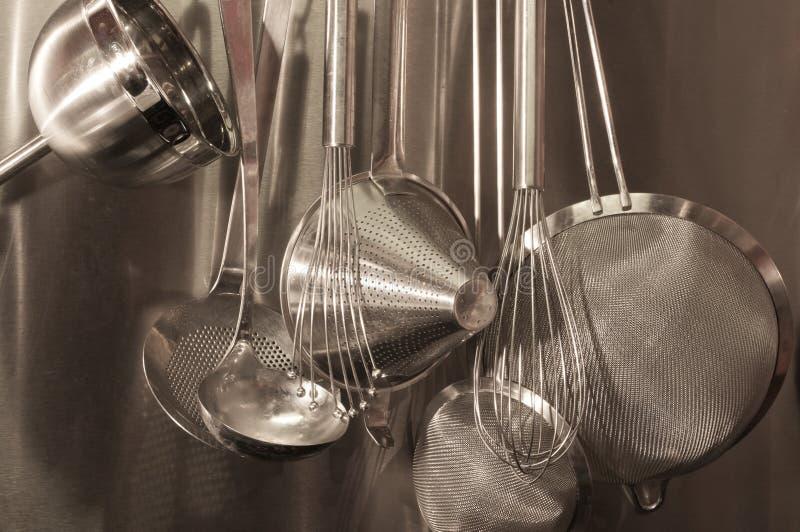 Keukengereedschap royalty-vrije stock fotografie