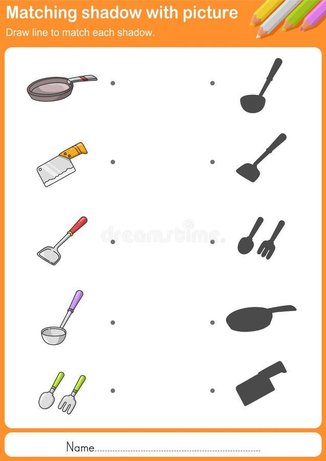Keukengereedschap kleurrijke Vector vector illustratie