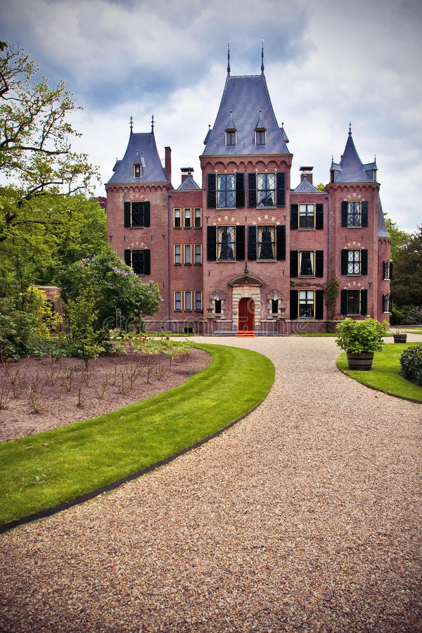 keukenhof Голландии замока стоковое фото