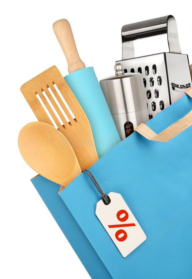 Keukenmateriaal stock afbeeldingen