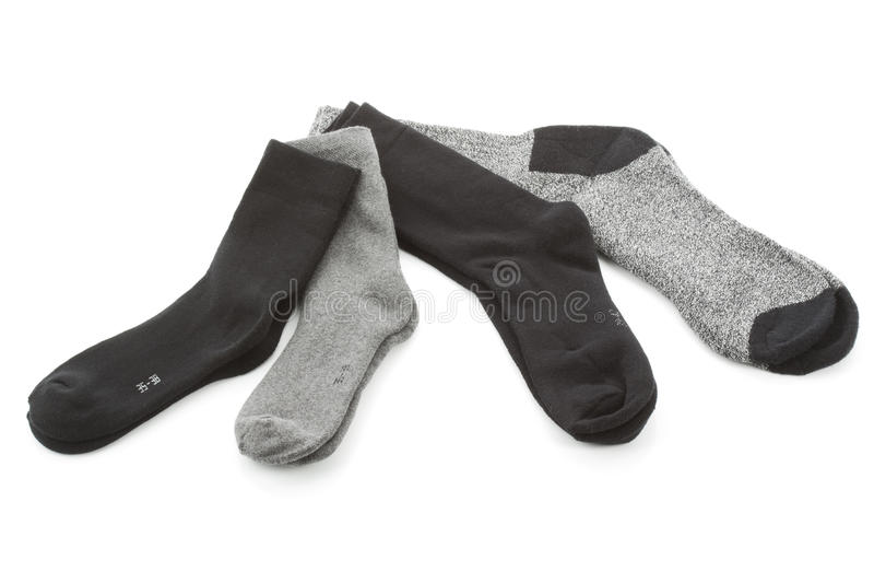 Keus van de sokken van mensen royalty-vrije stock afbeeldingen