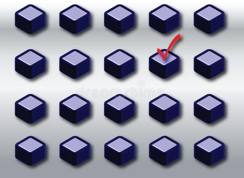 Keuzen vector illustratie