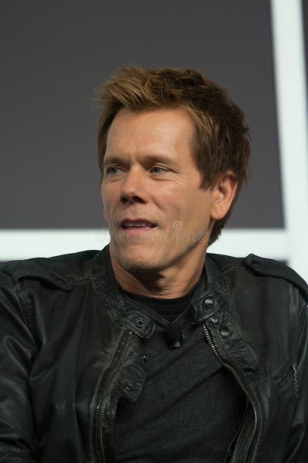 Kevin Bacon på SXSW 2014 royaltyfria bilder