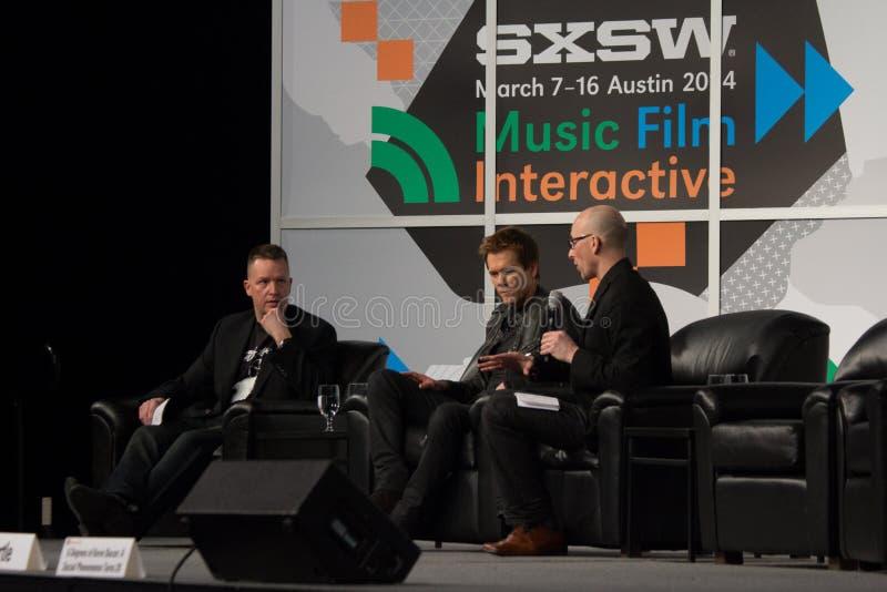Kevin Bacon przy SXSW 2014 zdjęcia stock