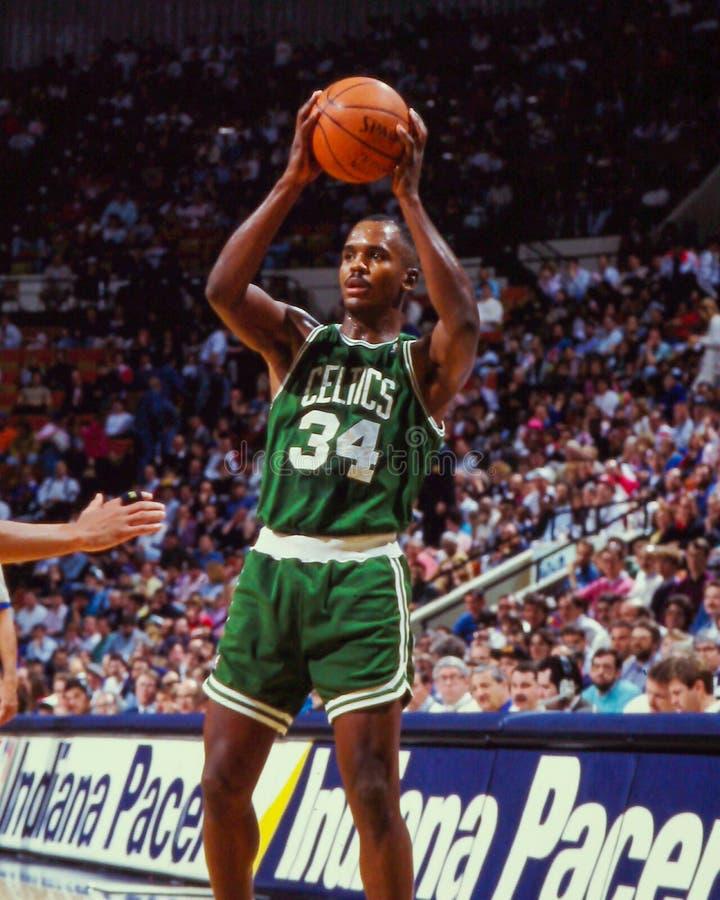 Kevin Gamble, Celtics de Boston fotografía de archivo libre de regalías