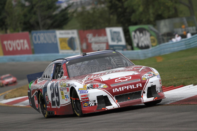 Kevin Harvick at Watkins Glen stock images