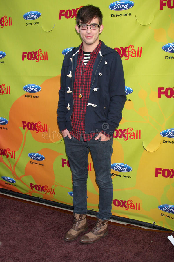 Kevin McHale. Arriving at the FOX-Fall Eco-Casino Party at BOA Steakhouse in West Los Angeles, CA on September 14, 2009 royalty free stock photo