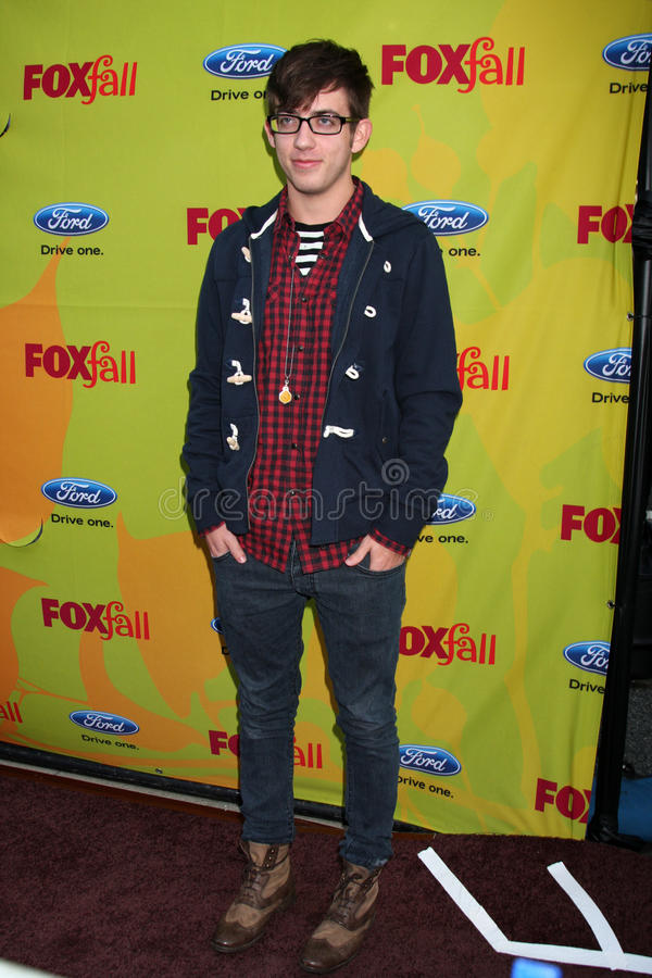 Kevin McHale. Arriving at the FOX-Fall Eco-Casino Party at BOA Steakhouse in West Los Angeles, CA on September 14, 2009 royalty free stock images