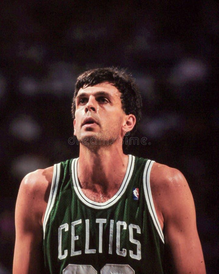 Kevin McHale, Boston Celtics immagini stock