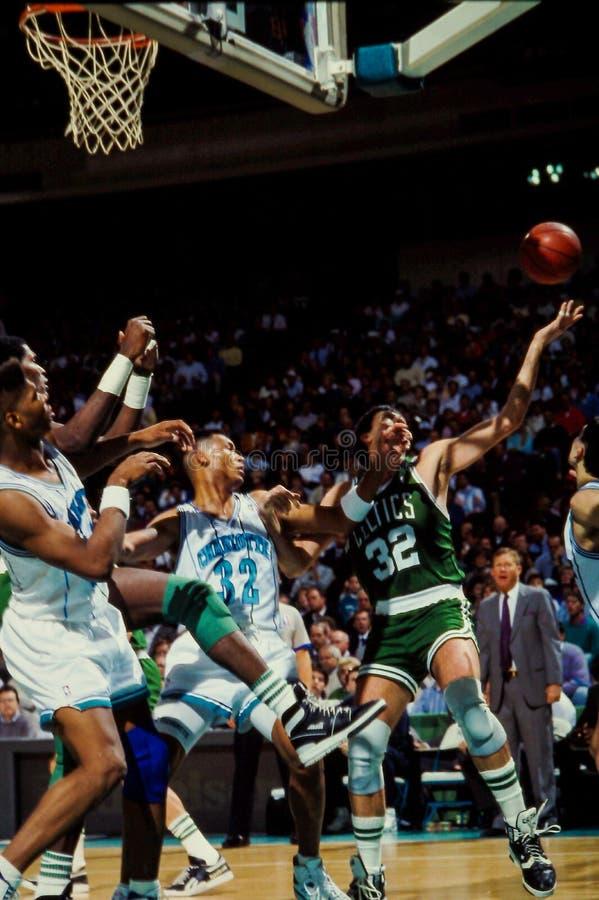 Kevin McHale, Celtics de Boston fotografía de archivo libre de regalías