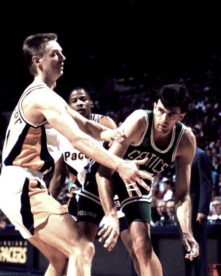 Kevin McHale, Celtics de Boston foto de archivo