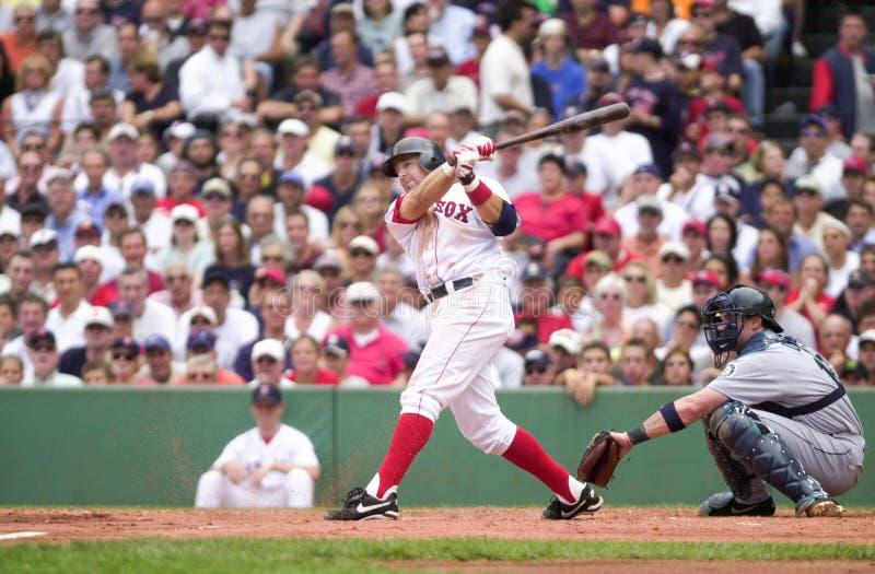 Kevin Millar, les Red Sox de Boston photos libres de droits