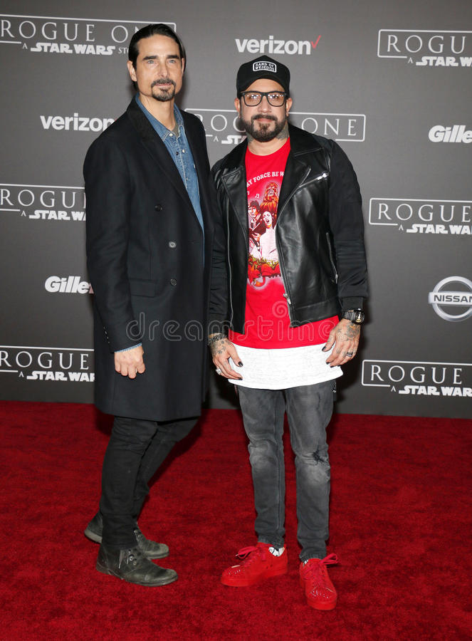 Kevin Richardson et A J McLean photographie stock