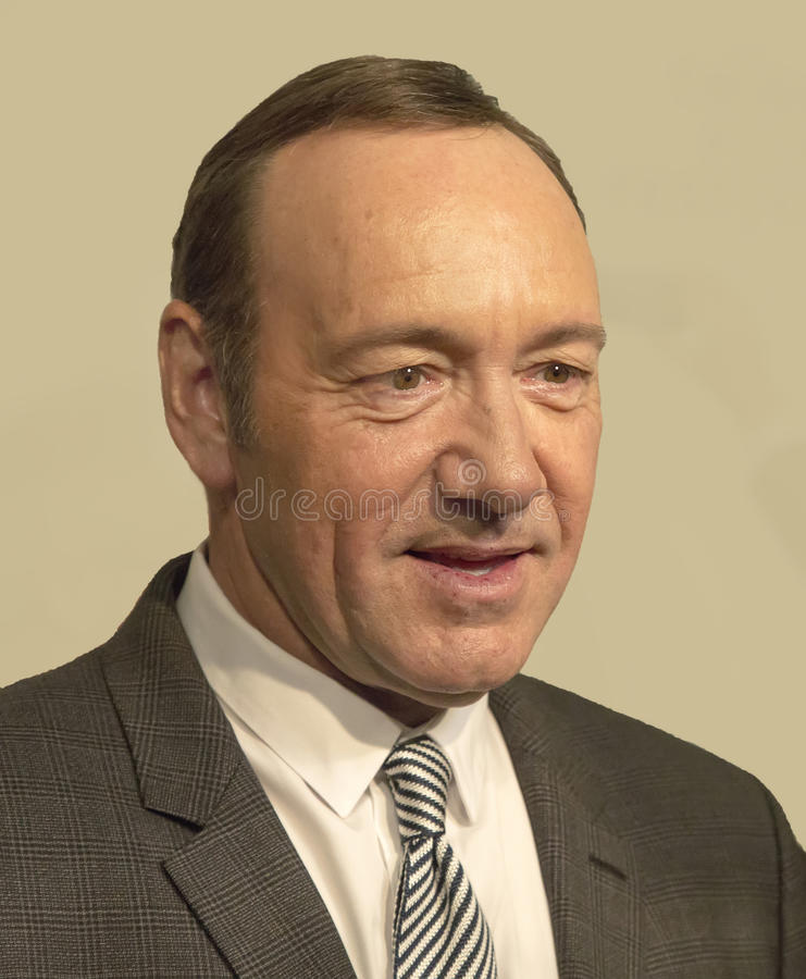 Kevin Spacey foto de stock royalty free