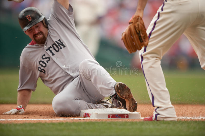 Kevin Youkilis photographie stock