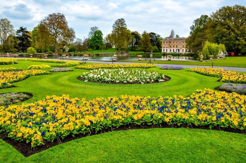 Kew botanical garden in spring, London, UK royalty free stock photography
