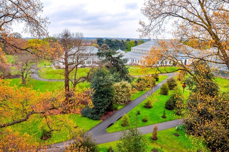 Kew botanical gardens, London, UK royalty free stock photos