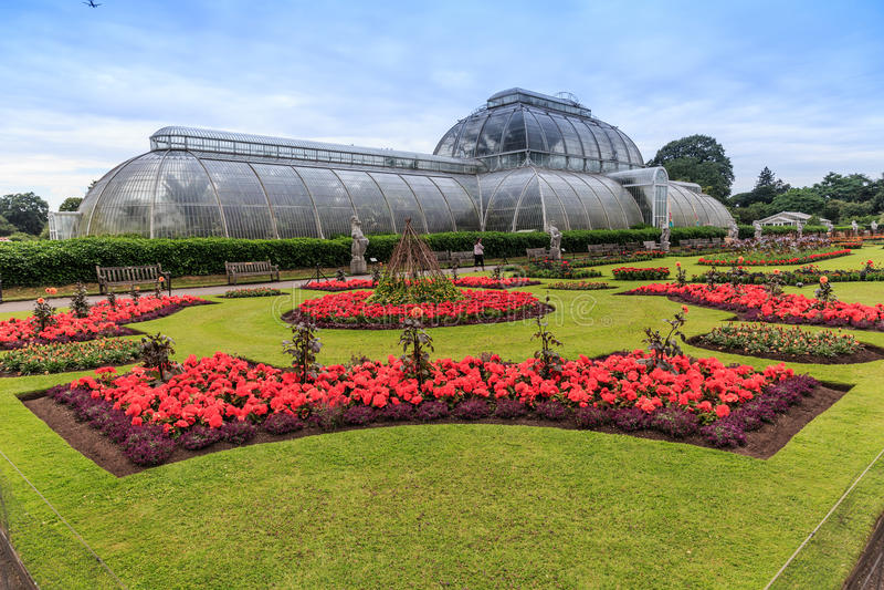 Kew-Gärten, England stockbilder