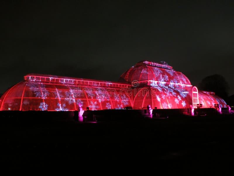 Kew Gardens Christmas royalty free stock image