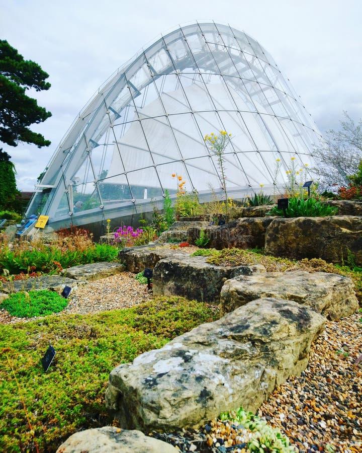 Kew Gardens London stock image