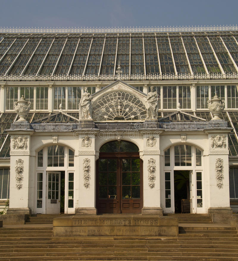 KEW GARDENS Temperate House royalty free stock images