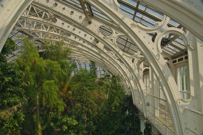KEW GARDENS. Is the world's largest collection of living plants. Founded in 1840 from the exotic garden at Kew Park in the London Borough of Richmond stock photos