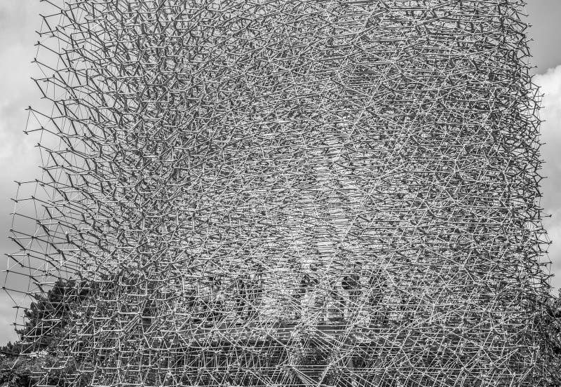 Kew-Garten, der Bienenstock stockfotos