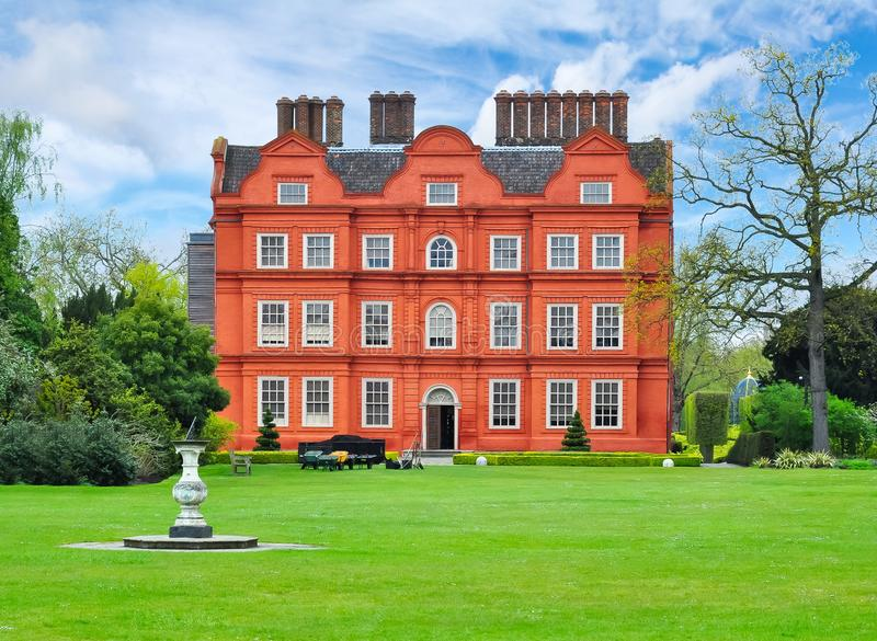 Kew palace in botanical garden, London, UK stock photo