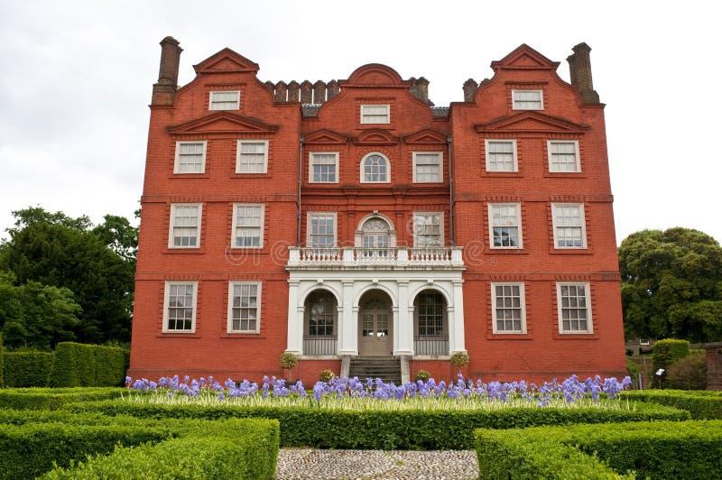 Kew slott, Kew kungliga botaniska trädgårdar, London, UK fotografering för bildbyråer