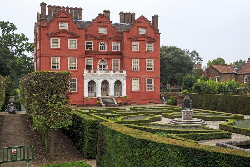Kew slott på Kew trädgårdar, London royaltyfria foton