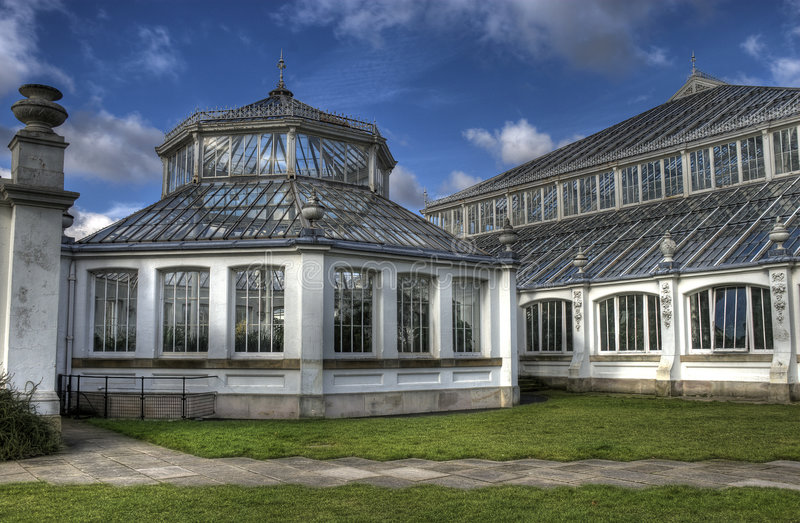 Kew Temperate House stock photo