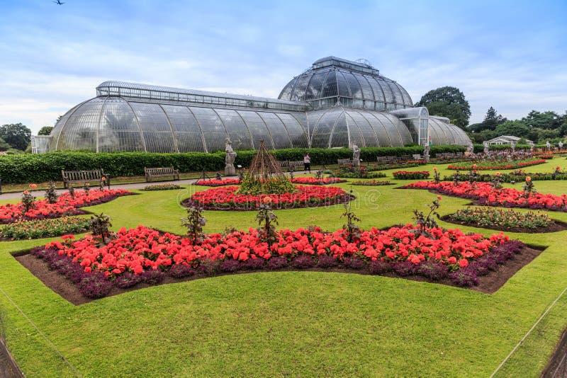 Kew trädgårdar, England arkivbilder