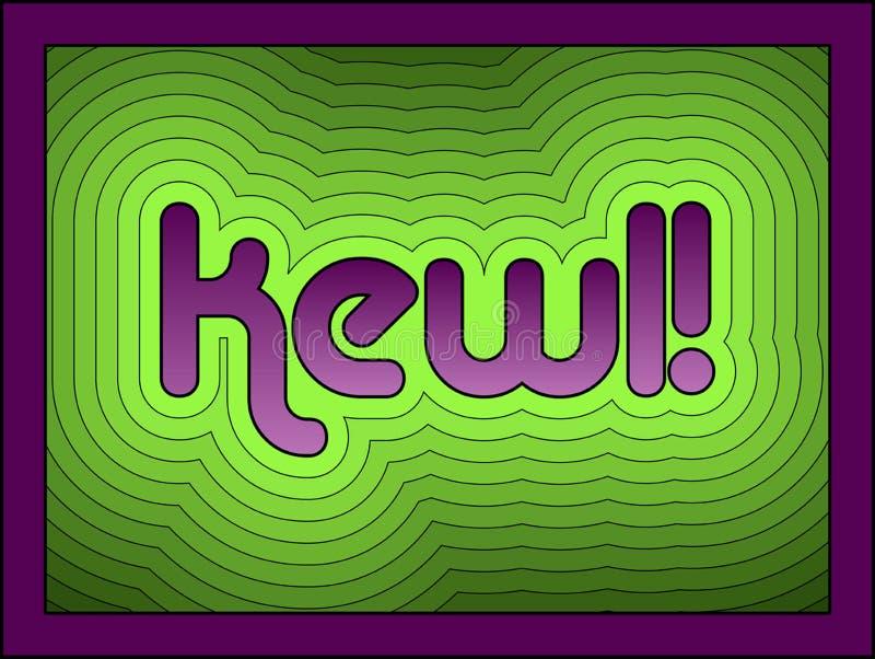 Kewl! lizenzfreie abbildung