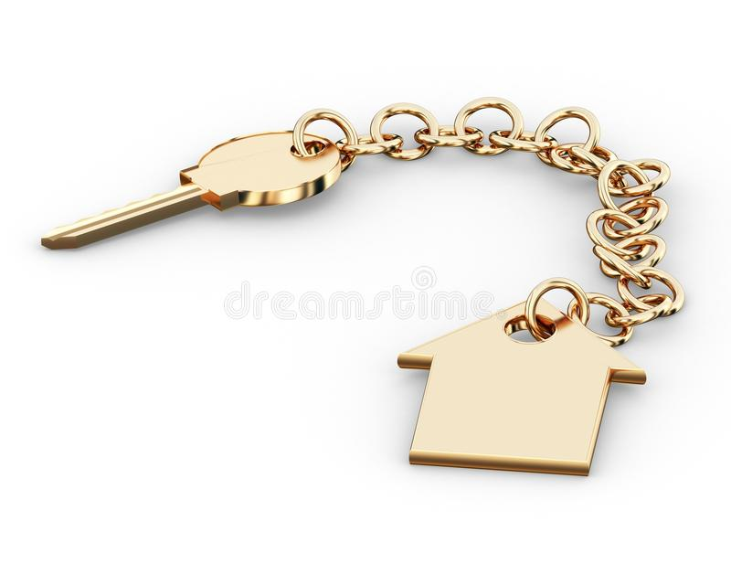 Download Key stock illustration. Illustration of immovables, achievement - 10209926