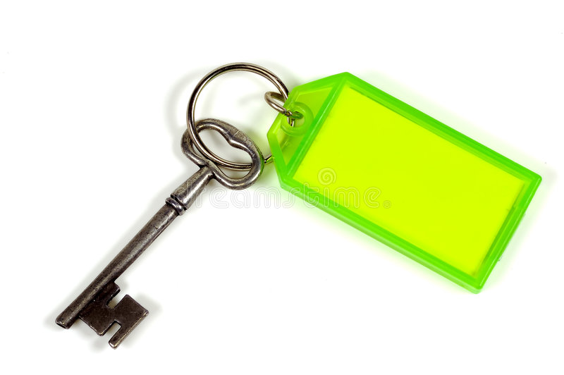 Key. Chain and a stock image