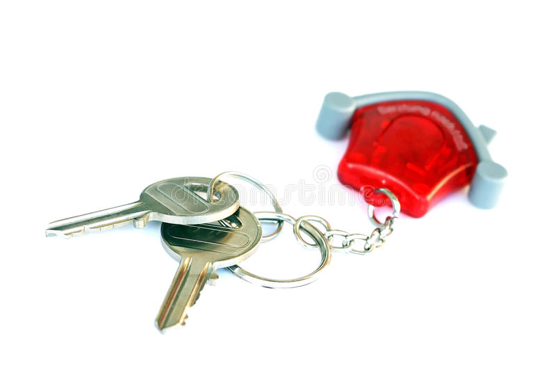 The key. For the own house or for the own freehold flat stock image