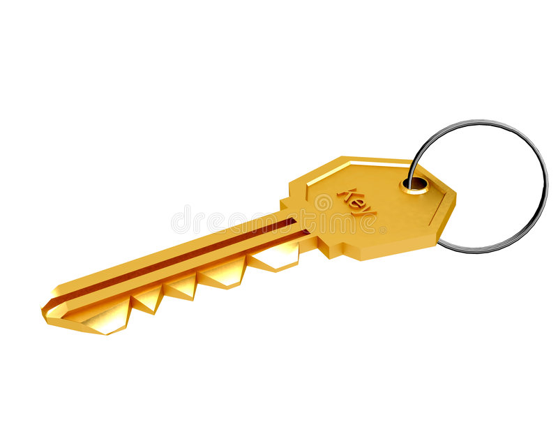 Download Key stock illustration. Image of real, close, isolated - 9101352