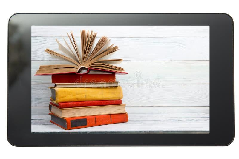 key bärbar dator för datorbegrepp som e lärer silver Digital arkiv - böcker inom royaltyfria foton