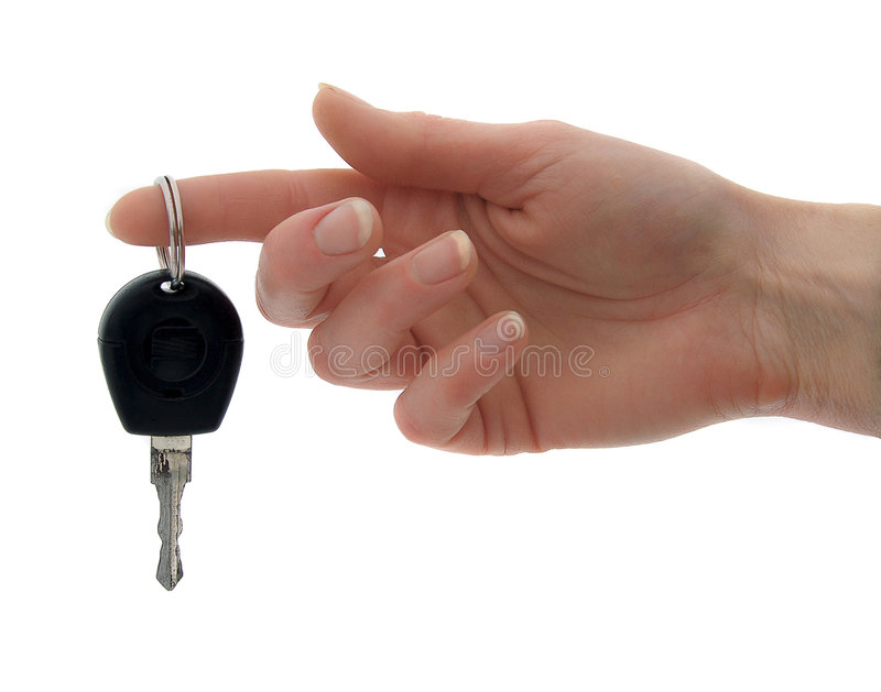 Key of car stock images