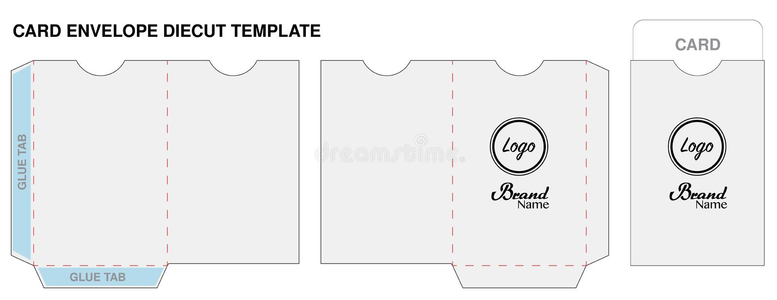 Key card envelope die cut template mockup vector stock vector download key card envelope die cut template mockup vector stock vector illustration of card ccuart Gallery