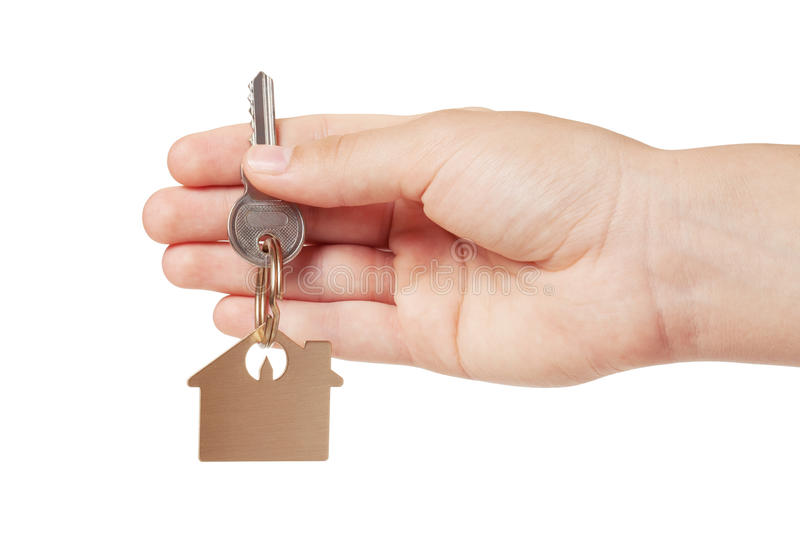 Download Key Chain In Hand Stock Image - Image: 25217991