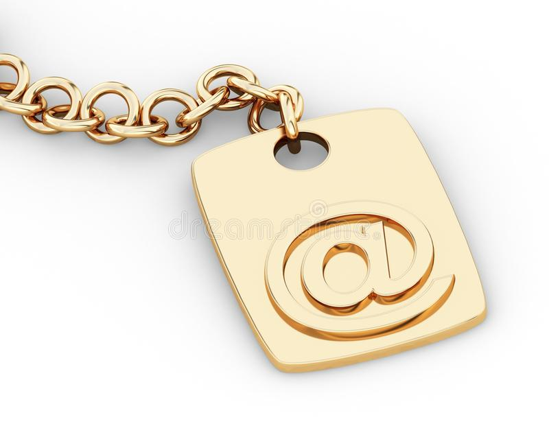 Key email stock photography