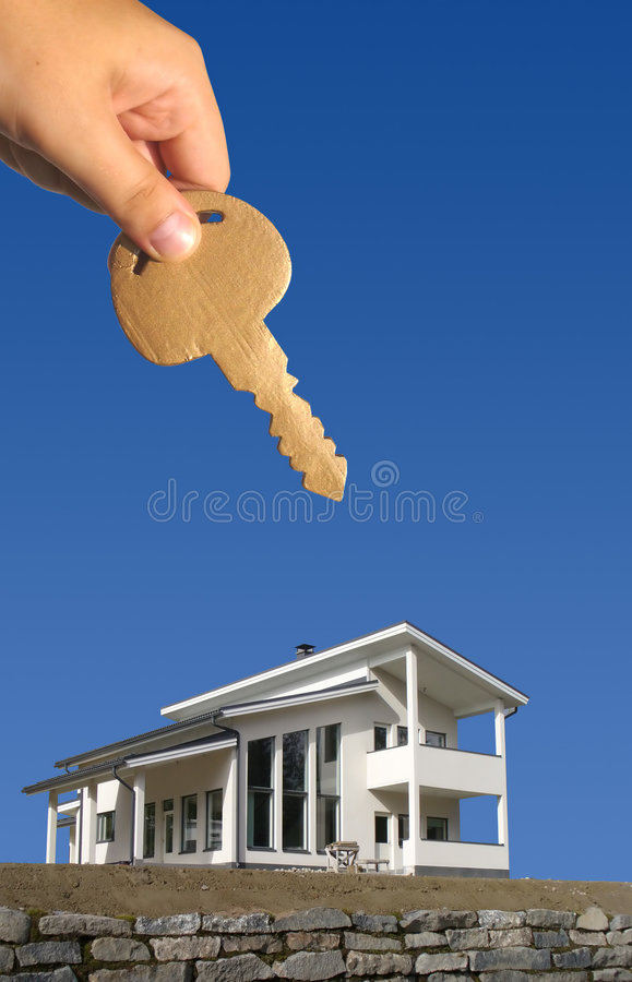 Free Key For New House Royalty Free Stock Image - 3188026