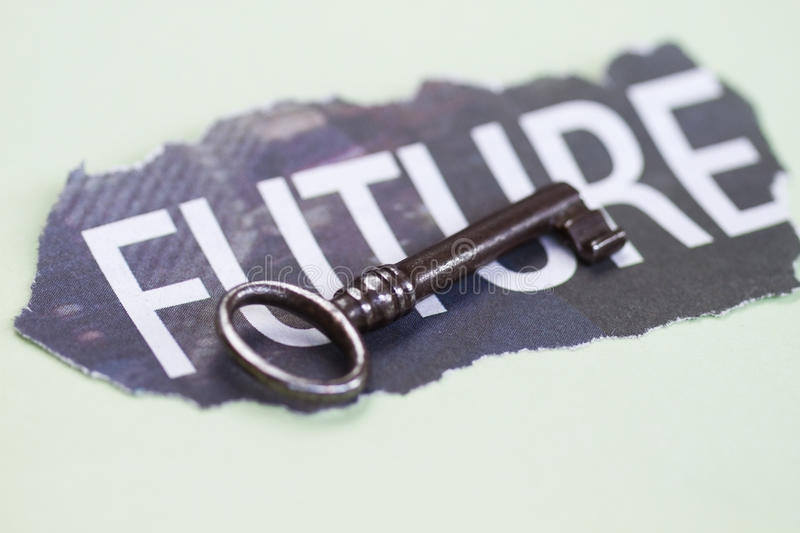 Download Key with Future stock illustration. Image of opportunity - 22298526