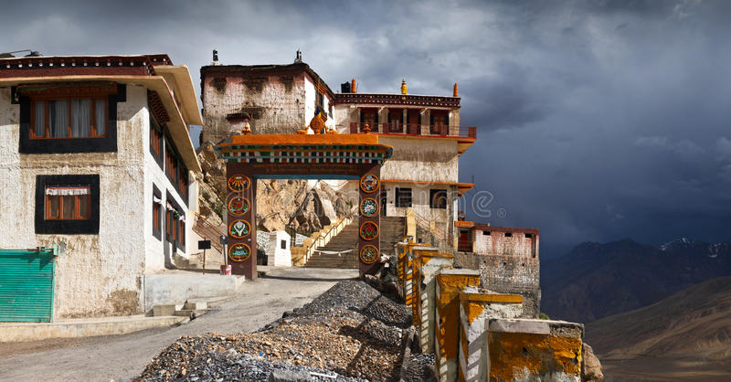 Key Gompa royalty free stock photo