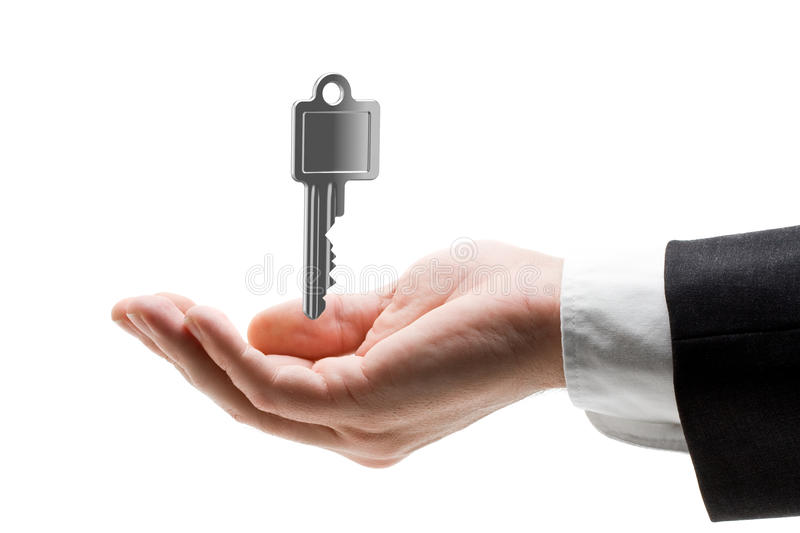 Download Key in hand stock image. Image of hold, real, start, business - 18678929