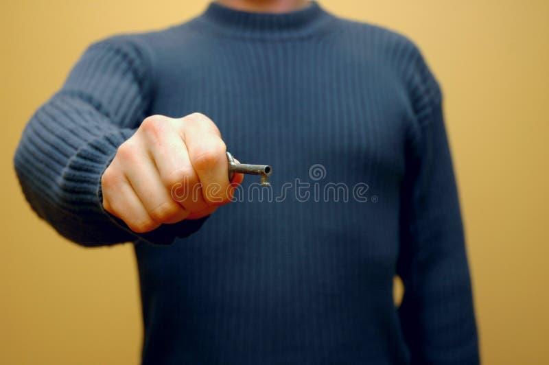 Key Hand 5 royalty free stock photos