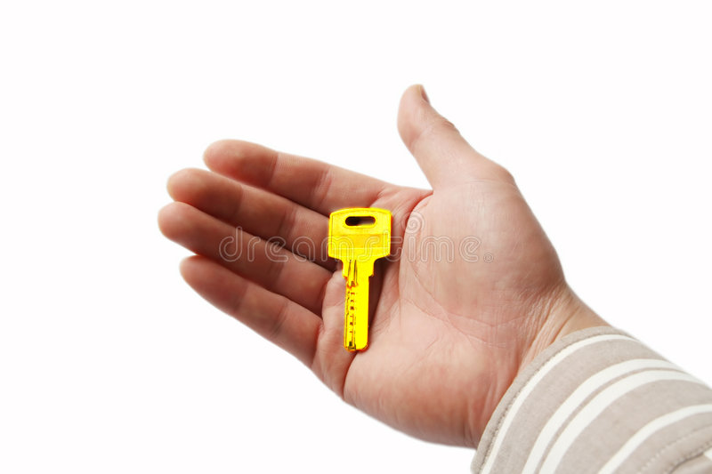 Download Key in hand stock image. Image of building, hands, trade - 8378419