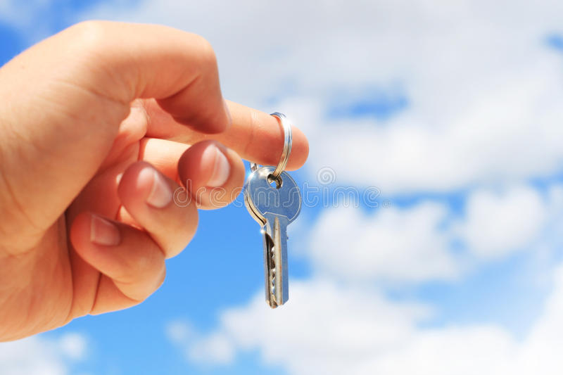 Download Key In Hand. Stock Images - Image: 31120334