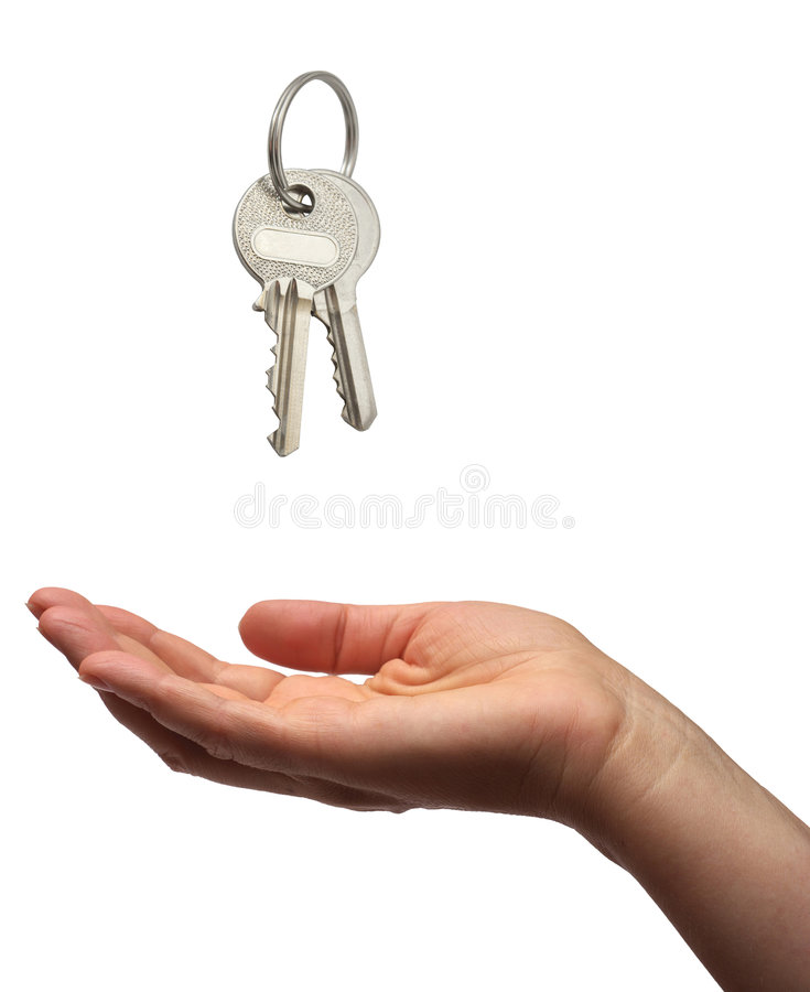 Download Key handover stock photo. Image of owner, buying, chance - 3599970